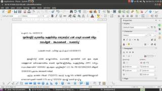 Page Number in Libre Office Writer