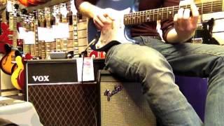 '68 Fender Strat, Strymon El Capistan & Vox AC30 Heaven