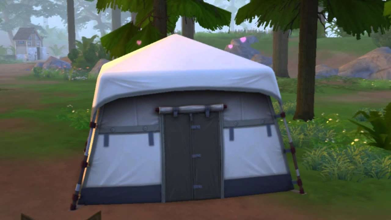 The Sims 4: Outdoor Retreat - Joe And Loanne Woohoo In A ...