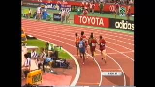 Antonio Reina Cto  Mundo Paris 2003 eliminatorias  800 m l
