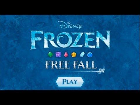 Frozen Free Fall - Level 1-10 Walkthrough (Complete)