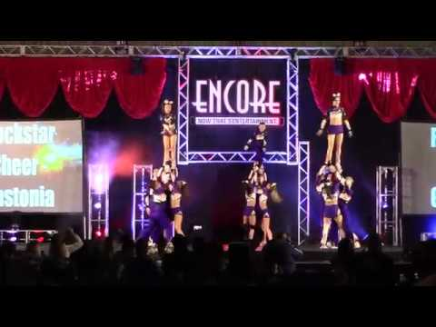 Rockstar Cheer Gastonia Journey L5 Coed Restricted Encore Championships Day 2 2018
