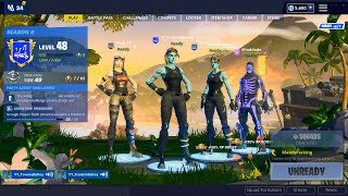OG Skins Solo vs Squads sur PC // Fortnite Battle royale live stream