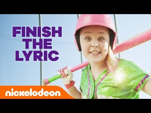 Are You a JoJo Siwa 'High Top Shoes' Song Expert? | Finish the Lyrics Challenge | #NickStarsIRL