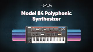 Introducing Model 84 Polyphonic Synthesizer – Softube