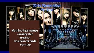 Girls Generation(SNSD) - Mr Taxi instrumental karaoke