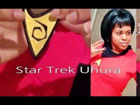 Diy Halloween Costume Uhura Star Trek No S Youtube