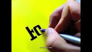 Famous Logos Drawn by Hand | Seb Lester Calligraphy