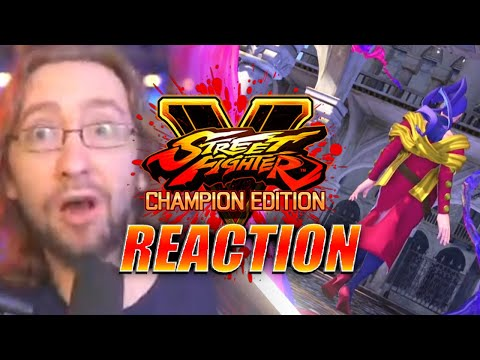 MAX REACTS: Rose Gameplay Trailer - Street Fighter V |