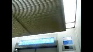 福屋八丁堀本店本館のエレベーターPart1-1(2号機・上り編)