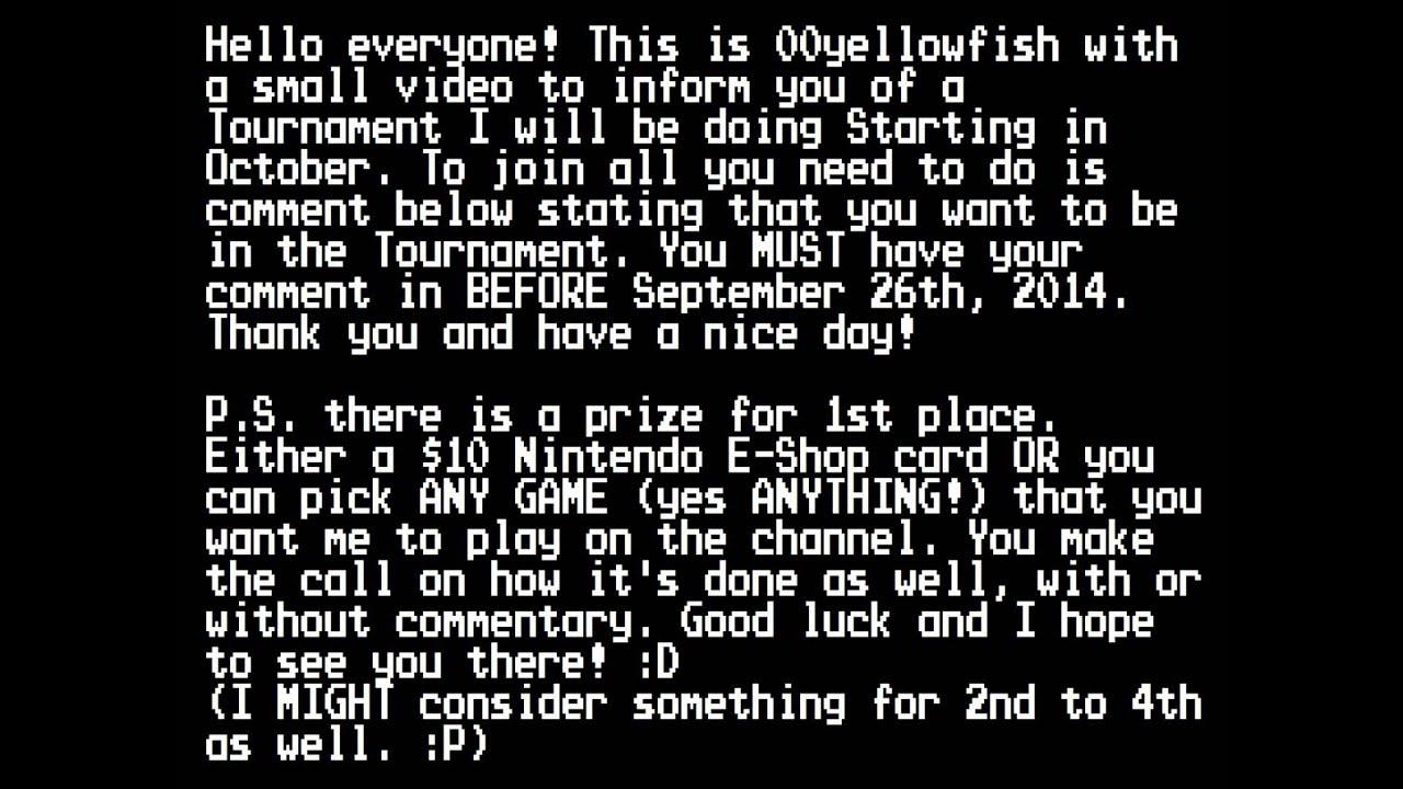 Mario Kart 8 Tournament Invite