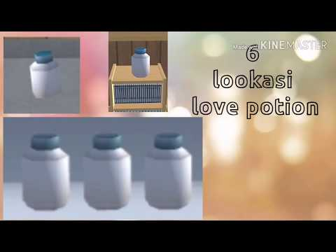 lokasi lokasi love potion  sakura school simulator