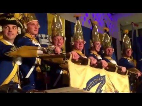 Bef rderungsappell b rgergarde blau gold youtube for Youtube blau