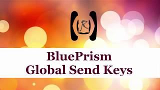 BluePrism - Global Send Keys || Reality & Useful