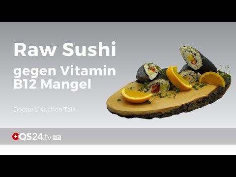 Vitamin B12-Mangel ausgleichen durch Raw Sushi