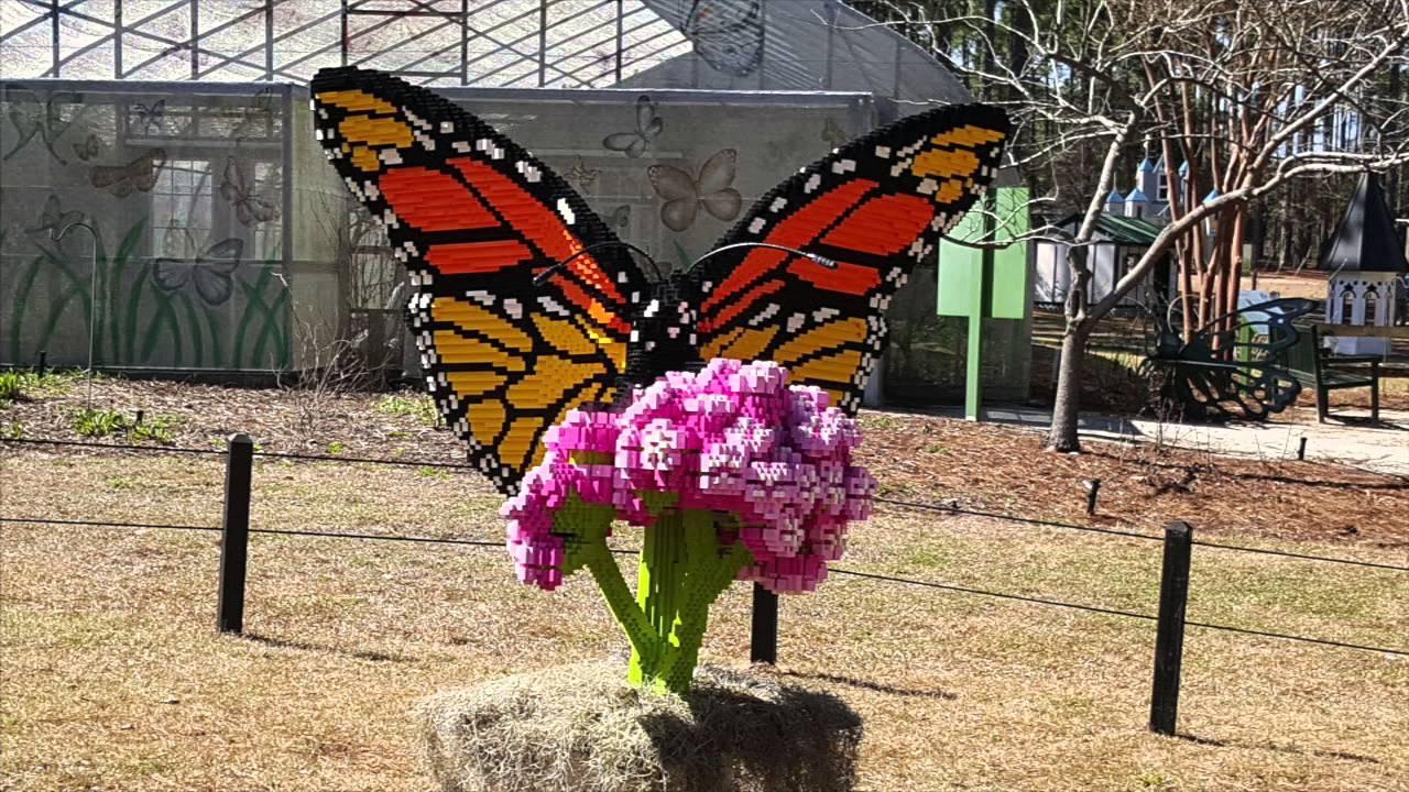 Nature Connects Art With Lego Bricks At Brookgreen Gardens Myrtlebeach