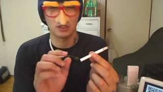 タバコ喫煙動画「VIRGINIA SLIMS Rose MENTHOL」090619