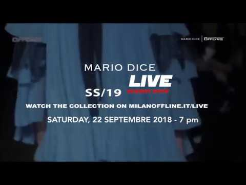 Mario Dice Milano Fashion Show SS19  #mfw on MILANOOFFLINE LIVE STREAMING
