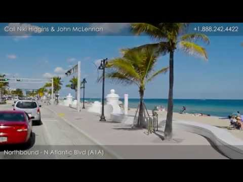 Driving Tour of Fort Lauderdale Beach Florida, Seaside Properties Group at Douglas Elliman