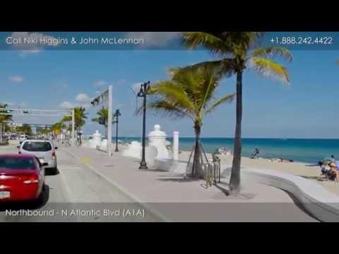 Driving Tour Of Fort Lauderdale Beach Florida, Seaside Properties Group At Douglas Elliman
