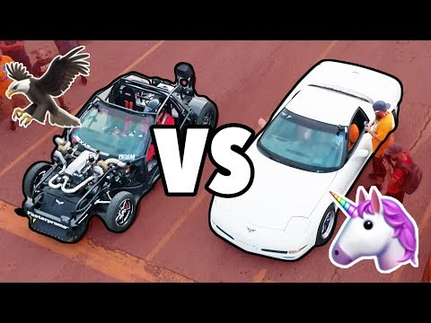 UNICORN C5 vs LEROY THE SAVAGE!