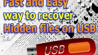 Easy and Fastest USB Recovery