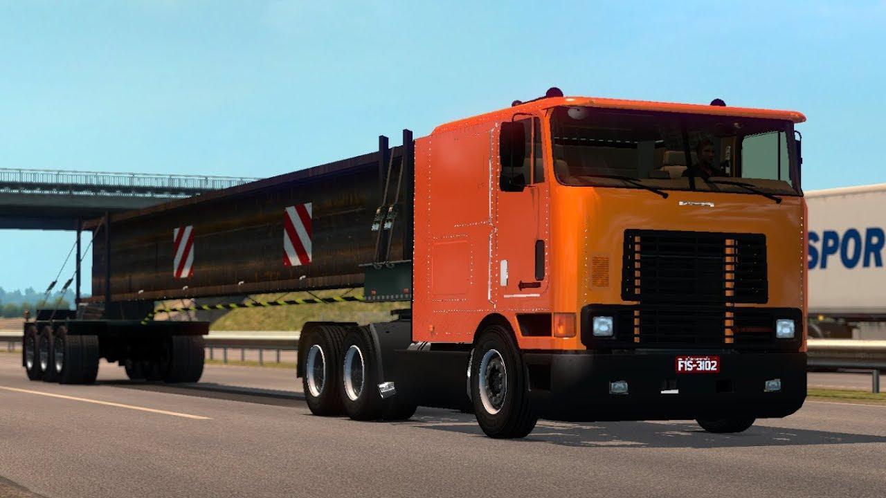 1 30 Euro Truck Simulator 2 International 9800 Br Style Mods