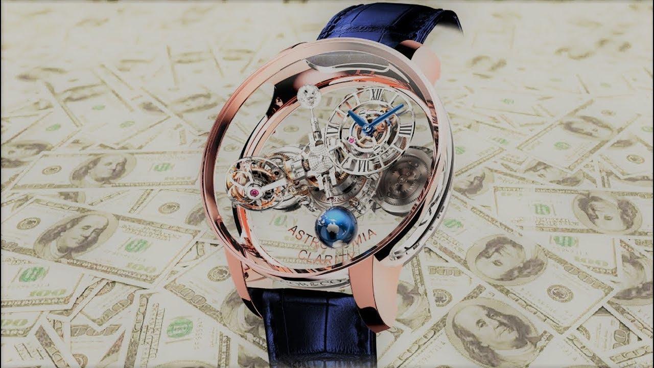 94f8d9f8291a98 TOP 5 orologi più incredibili al mondo - YouTube