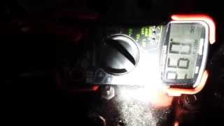 """CDS Stage-1 Buick 455 Regal final Parasitic Draw of  """".093"""" ... my ALARM?  10-26-2014"""