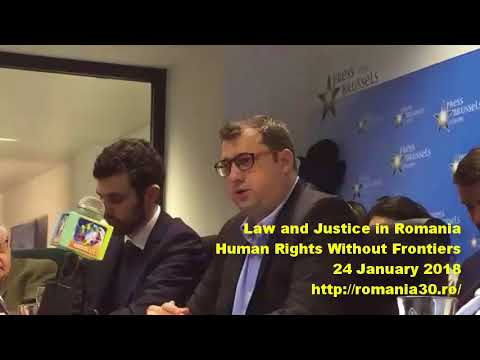 Human Rights Without Frontiers Conference about Law and Justice in Romania