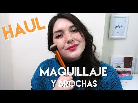 Haul 2, compras y algunos regalitos: Maquillaje y brochas