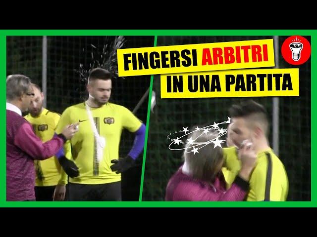 Fingersi Arbitro a una Partita di Calcetto - [Candid Camera Calcio] - theShow