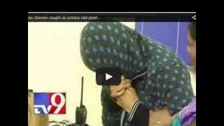 After Swetha Basu Prasad, another heroine Divya Sri caught in sex racket tv9 exclusive video