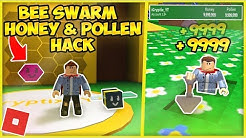 Roblox Bee Swarm Simulator Honey Pollen Exploit W Auto Farmer - roblox bee swarm simulator how to get unlimited honey