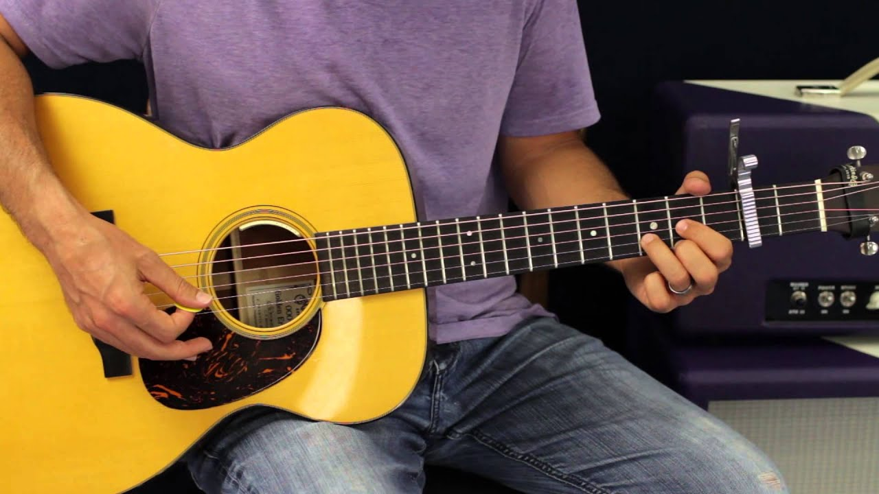 How To Play One Of Us By Joan Osborne Acoustic Guitar Lesson