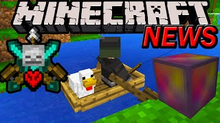 Minecraft 1.9 News: Combat Update Needs YOU! Suggest Changes, Boat Oars, Mystery Block, Unified MC