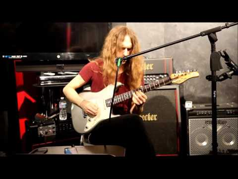 Nick Johnston clinic @ Schecter booth NAMM 2016
