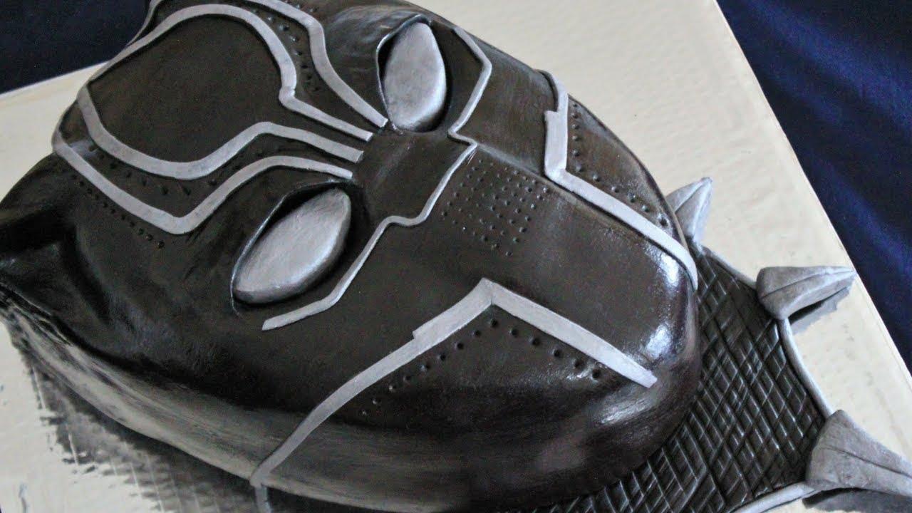 La Pantera Negra: Decoracion De Pastel De La Pantera Negra- Parte II