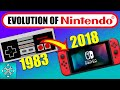 The Evolution Of The Nintendo Consoles (1983-2018)