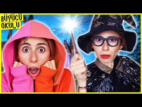Büyücü Okulu Dila Büyücü Oluyor Eğlenceli Çocuk Videosu Dila Kent