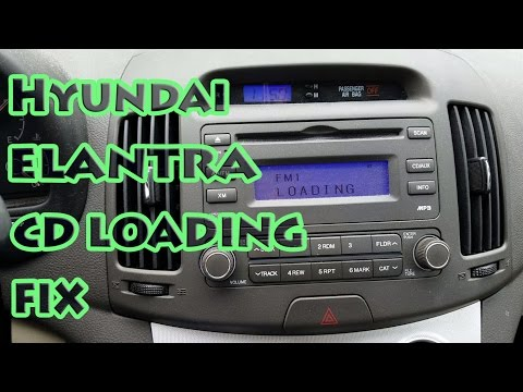 Hyundai Elantra CD Loading Fix 2007-2012