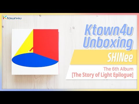[Ktown4u Unboxing] SHINee - 6th Album [The Story Of Light: Epilogue] 샤이니 에필로그 언박싱