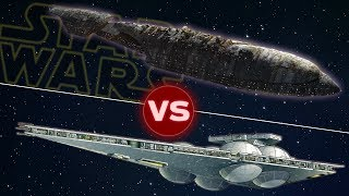 MC30c Mon Calamari Frigate vs Immobilizer 418 Cruiser | Star Wars: Who Would Win