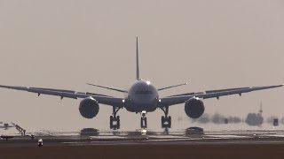 Kumamoto Airport landing!!! All Nippon Airways JA821A Boeing 787 Dreamliner 熊本空港
