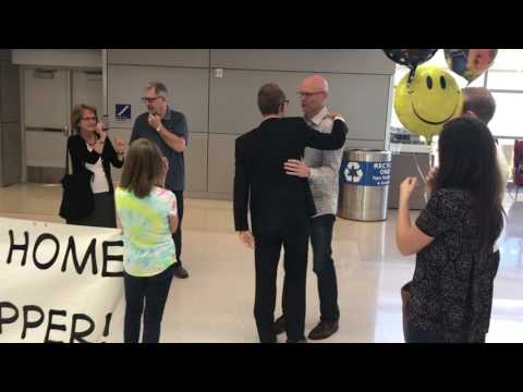 Elder Michael Hopper Arrives Home After Two Year LDS Mission in Panama City, Panama