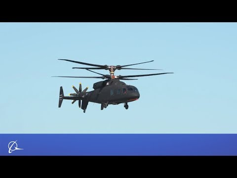 Sikorsky-Boeing SB1 DEFIANT Test Flight