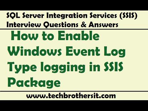 Log providers in ssis | msbi guide.