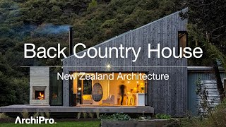 Back Country House  – Uniquely New Zealand Typology Of The Back Country Hut