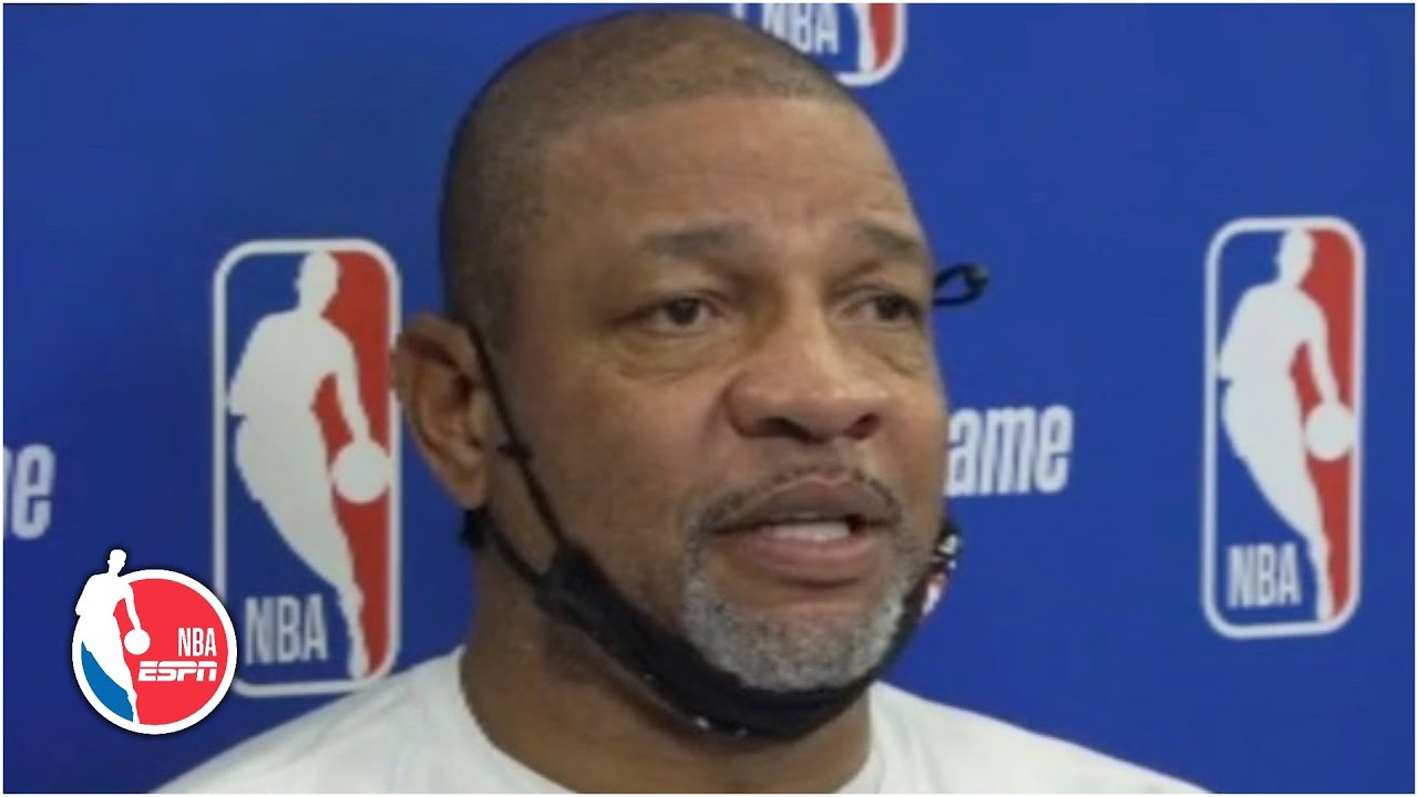 Doc Rivers expresses the importance of players registering to vote | NBA on ESPN