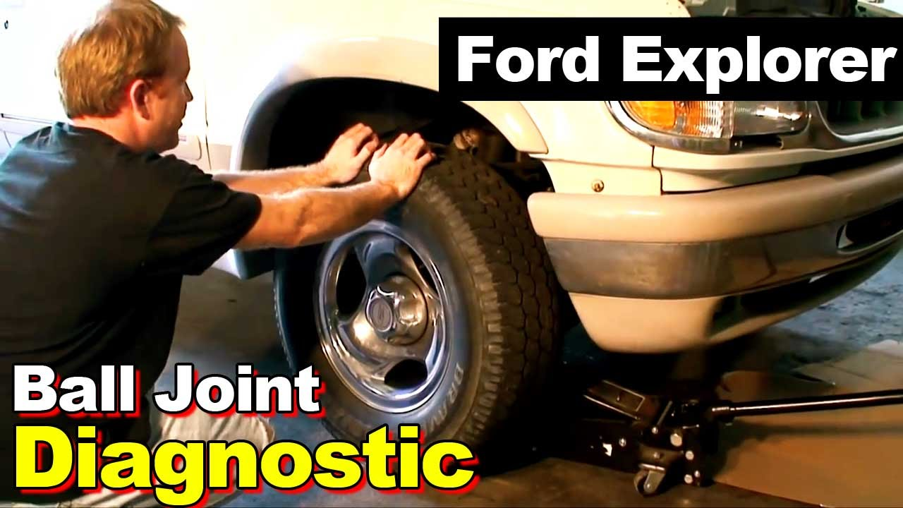1995 Ford Explorer Ball Joint Diagnostic Youtube